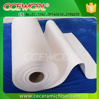 CE Certified Ceramic Fiber Paper Glass Fusing