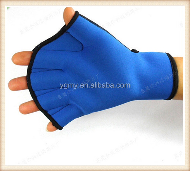 Water Aerobics Aqua Jogger Swimming Swim Surfing Diving Webbed Neoprene Paddle Gloves