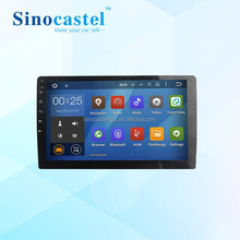 Full Touch Screen Dashboard Placement navigation Android head unit for 10.1 inch Deckless universal