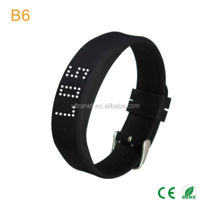 Bluetooth 4.0 Activity Tracker Pedometer Bracelet Smart Band Wristband for IOS and Android phones