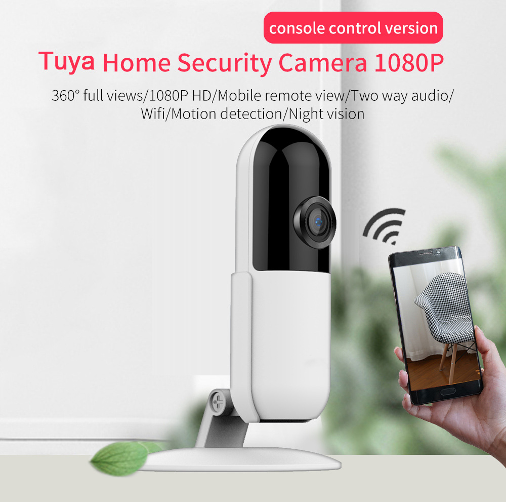 Tuya 1080P Smart Home Security Camera Outdoor Smart Wifi Camera