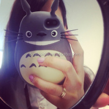 3D Animal Silicone Phone Cover My Neighbor Totoro Case for iphone 5 6 6 plus supplier