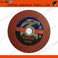 4inch thin flat abrasive disc cutter for metal stainless steel