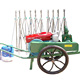 15hp 13.2kw diesel engine automatic sprinkler type irrigation system