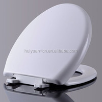 decorative soft close European style wall hanging plastic toilet seat cover