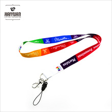 2018 new design mutifunctional lanyard for mobile phone key chain and wrist band