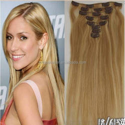 2014 Remy Clip Hair Extensions Double Weft/high quanlity Clip In Hair Extensions/100g Remy Clip In Hair Extension
