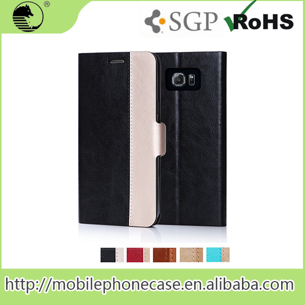 custom flip case for mobile phone