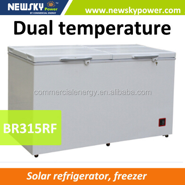 High quality 433L used chest freezer for sale solar deep freezer
