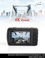 RLDV-65 4X digital zoom wholesale IR Infrared WDR driver car camcorder