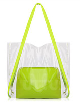 New Designer PVC Candy Transparent handbag with competitive price