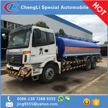 Foton 6x4 new fuel tanker truck capacity 20000L to 250000L on sale in Laos