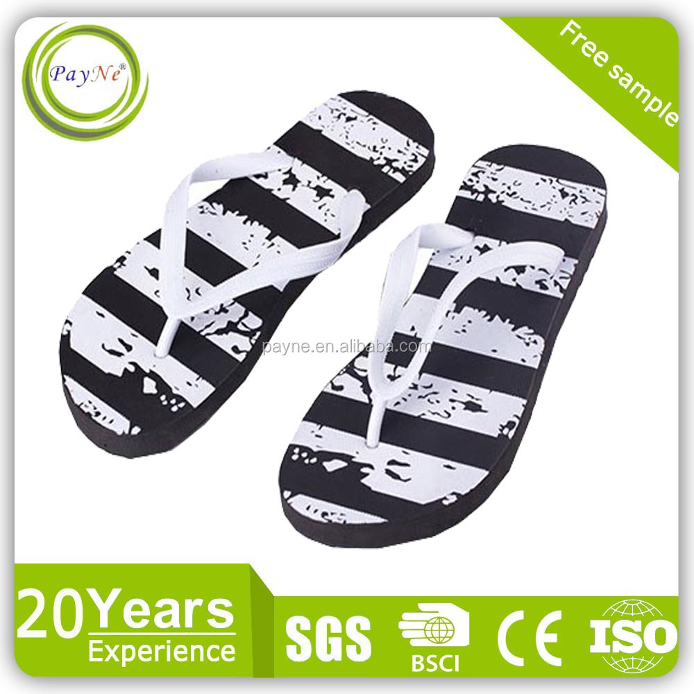 OEM sandals customized logo men pvc sandalias