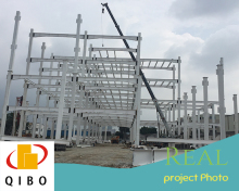 quality guarantee ISO certificate steel structure warehouse/steel building/prefab building