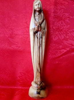 bethlehem olive wood Virgin Mary - Lady Lord Statue/virgin mary statue