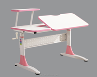 Hot selling fashion adjustable student desk and chair set