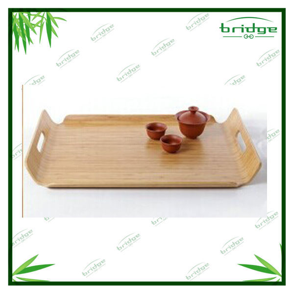 2016 bamboo food tray serving tray wooden tray