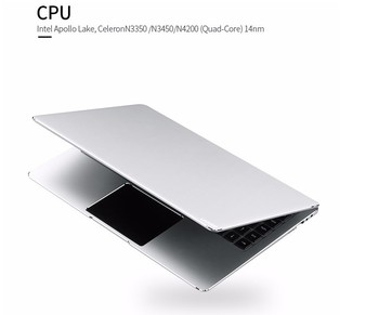 Ultra slim laptop 14 inch with intel N3450 4GB RAM 64GB SSD