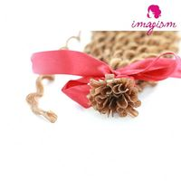 Main product excellent quality french curl hair extension with workable price