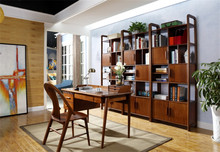 Modern European Style Antique Wooden Bookcase and Tables for Living Room Furniture