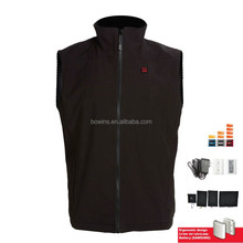 Wholesale winter waterproof USB battery heated vest