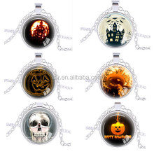 New Designed Halloween Pumpkin Pendant Necklace Fashion Hollowen Gifts