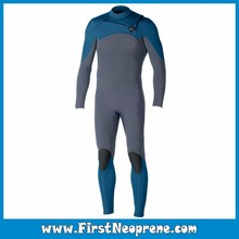 Import Yamamoto Materials Chest Zip 3/5MM Premium Neoprene CR Mens Winter Wetsuits For Snorkeling