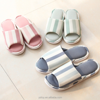 Fall home slippers men and women couple slippers home indoor wood floor with soft floor