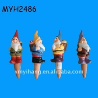 Popular terracotta gnome plant watering spikes