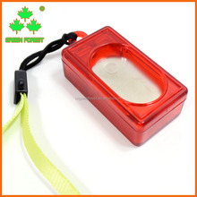 Cheap Red Plastic Pet Dog Training System Clicker With Wristlet