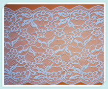 beautiful polyester floral mesh lace fabric for garment
