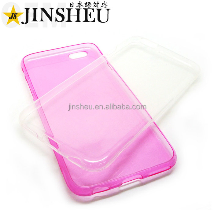 Bulk cheap fancy TPU transparent phone case