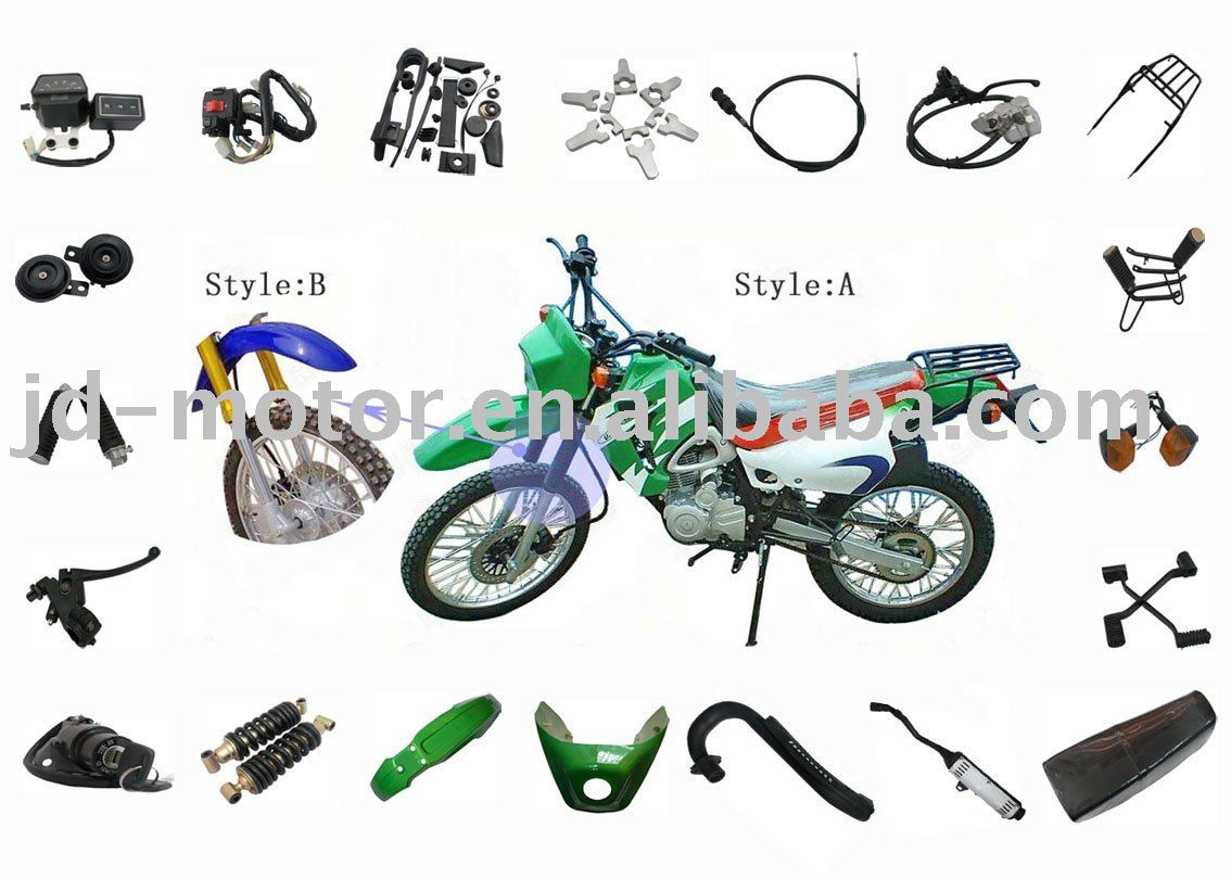 125 Pit Bike Engine Parts Freestyle Diagram