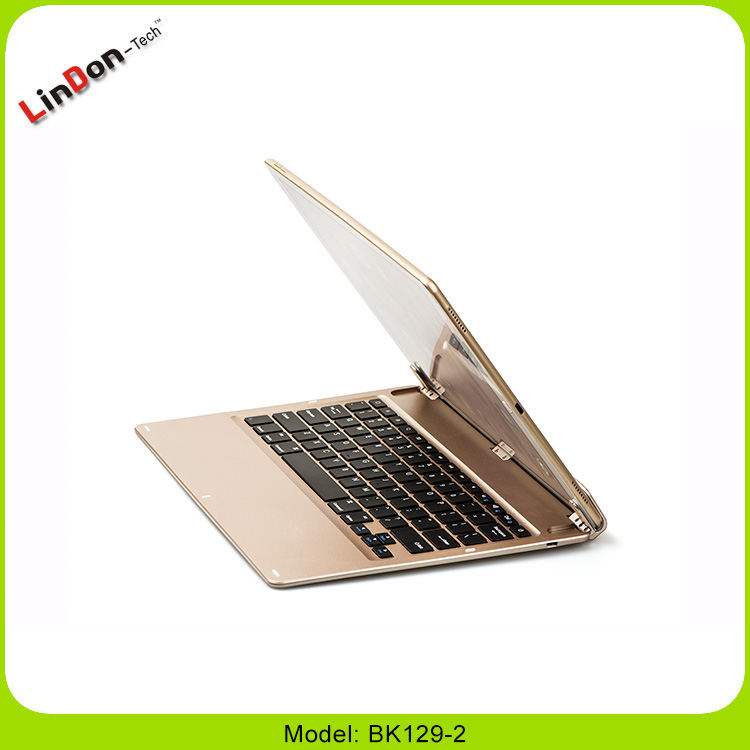 Hot Selling Wireless Bluetooth 3.0 Keyboard Case For iPad Pro 12.9 Inch with Stand