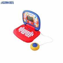 Intelligent kids laptop arabic educational toys learning machine