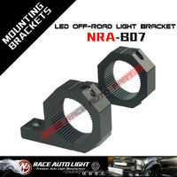 Mounting bracket LED light clamp bar roof roll cage