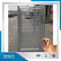 Made In China Heavy Duty Galvanized or Powder Coated Dog Cage With Reasonable Price and Good Quality