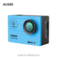 Cheapest 4k action camera new style 1080p wifi remote control with customized OEM design