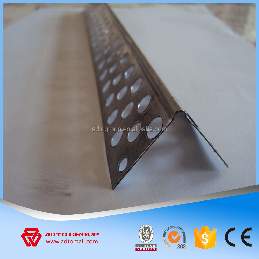 Dry wall partition system gypsum board corner bead wall angle