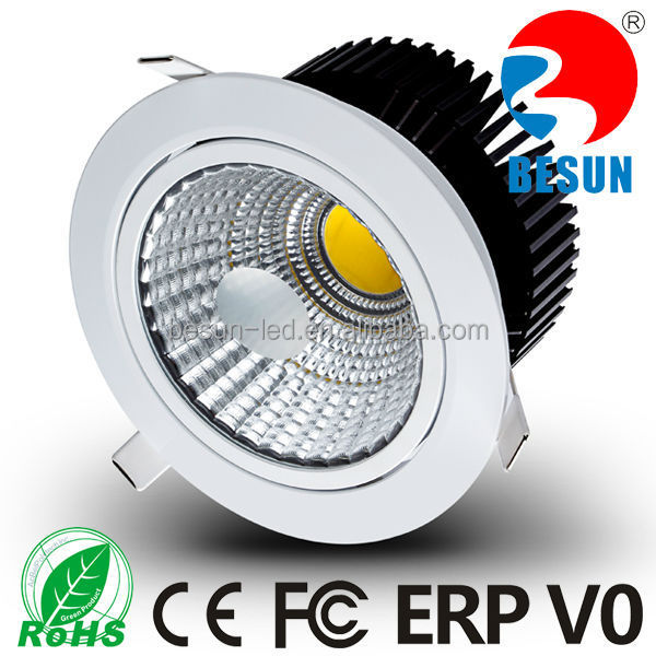 Office lighting Recessed Dimmable Cuting size 145mm Dia 160mm 30w COB LED downlight