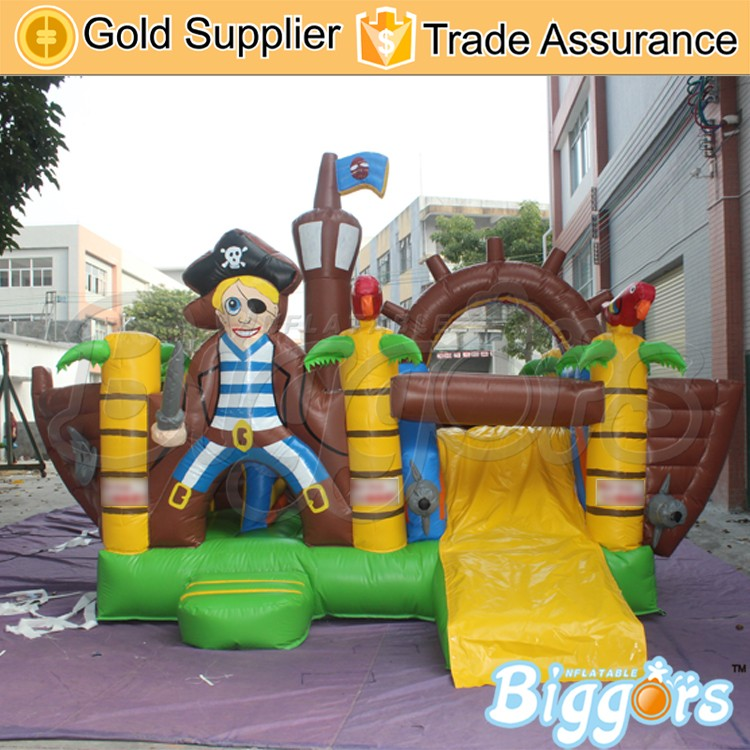 Newest Design Pirate Theme Inflatable Buncer For Rental