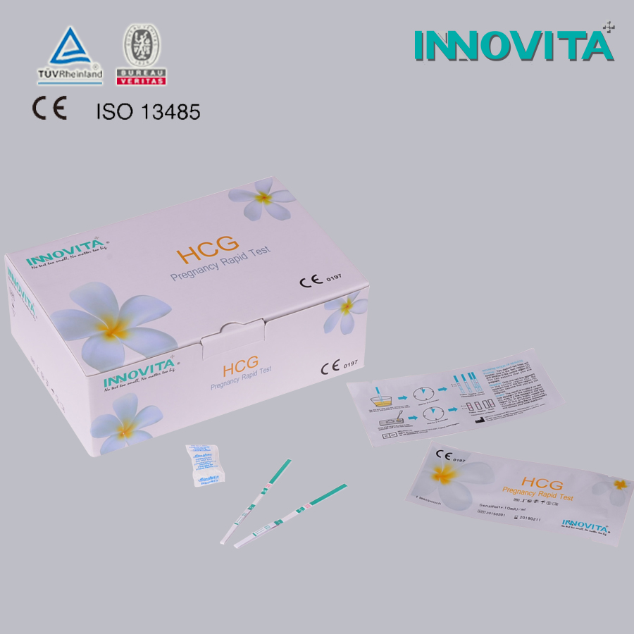 INNOVITA Brand Hot sell HCG pregnancy test strip