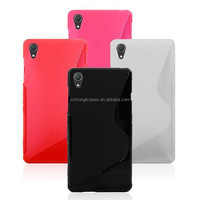 For Sony Xperia Z2 S-line tpu mobile phone case,soft gel tpu case for Sony Z2