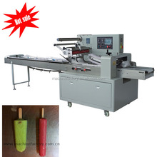 Automatic flow packing machine for ice lolly