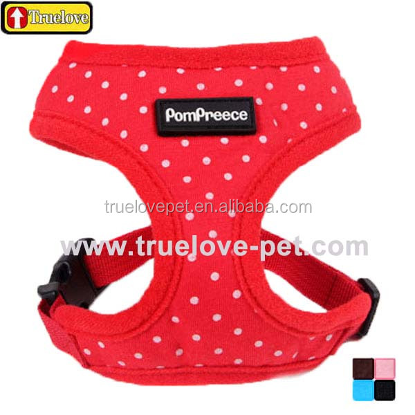 Truelove Cute Dotted Dog Harness Comfort, Dog Harness Truelove, Dog Harness Vest Soft