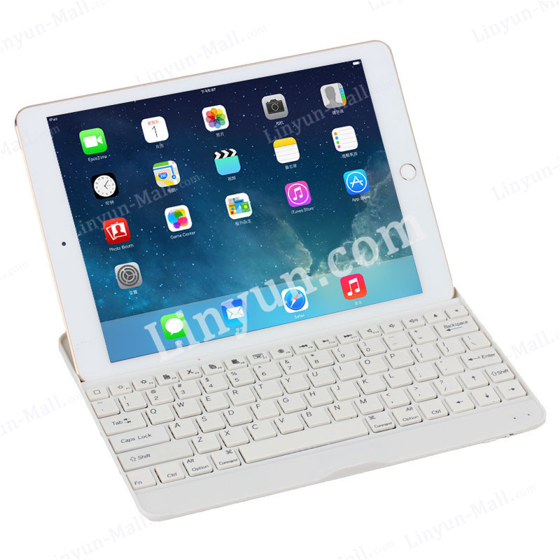 For iPad Air 2 Wireless Bluetooth Keyboard Case,For iPad Air Plastic Bluetooth Case Keyboard