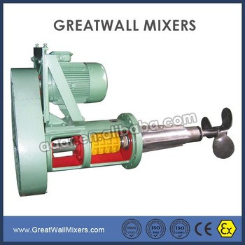 TD series belt drive side-entry Agitator mixer