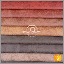 New design 100% polyester suede gilding faux leather fabrics sofa fabric textile