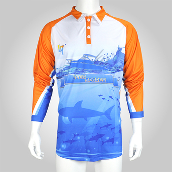 Fly fishing shirt sun protect fishing shirt custom make