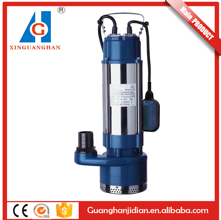 220voltage high pressure 1.5 hp/2 hp/3 hp submersible water pump with controller